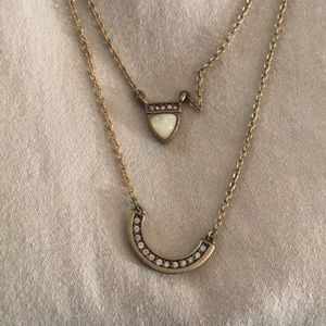 Jewelry - Double chain necklace